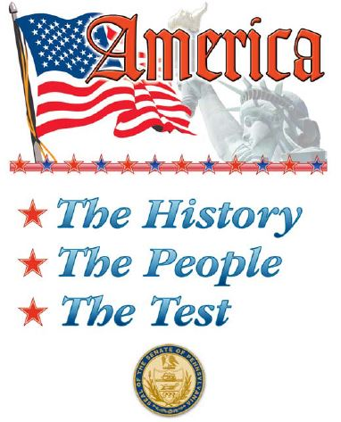 America. The History, The People, The Test.