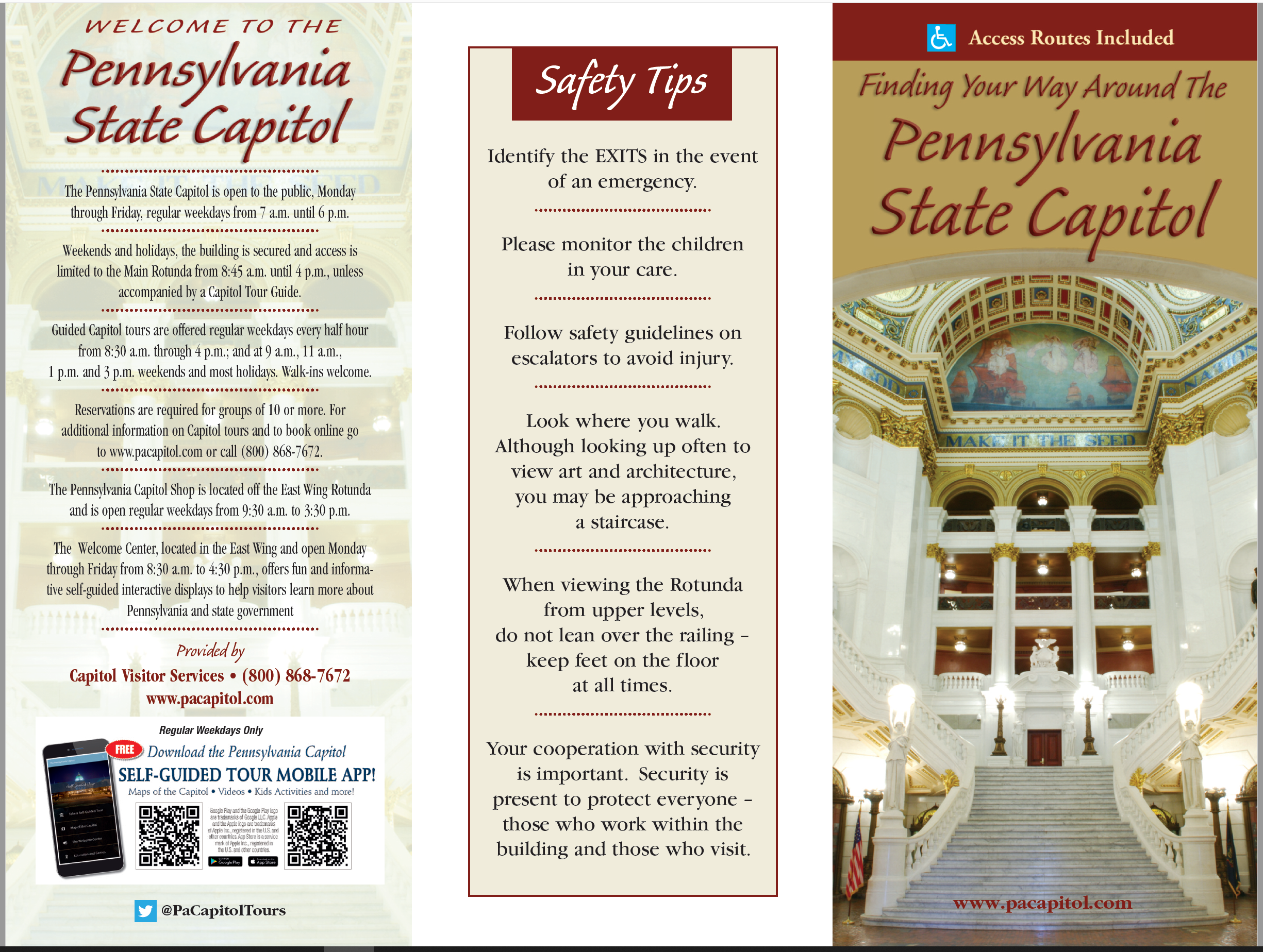 Finding Your Way Around The PA Capitol