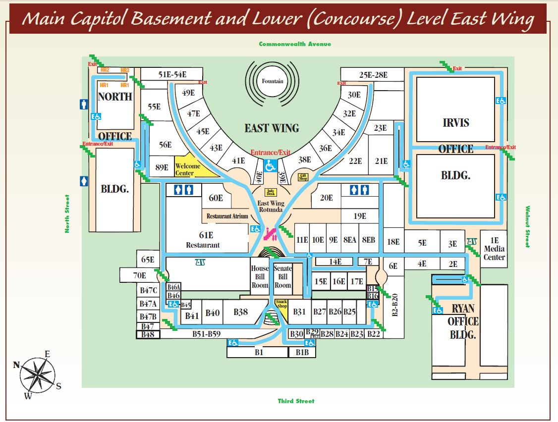House Of Representatives Floor Plan Capitol Guided Tours Pa Capitol